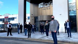 The team at ALOFT Hotel Birmingham Eastside